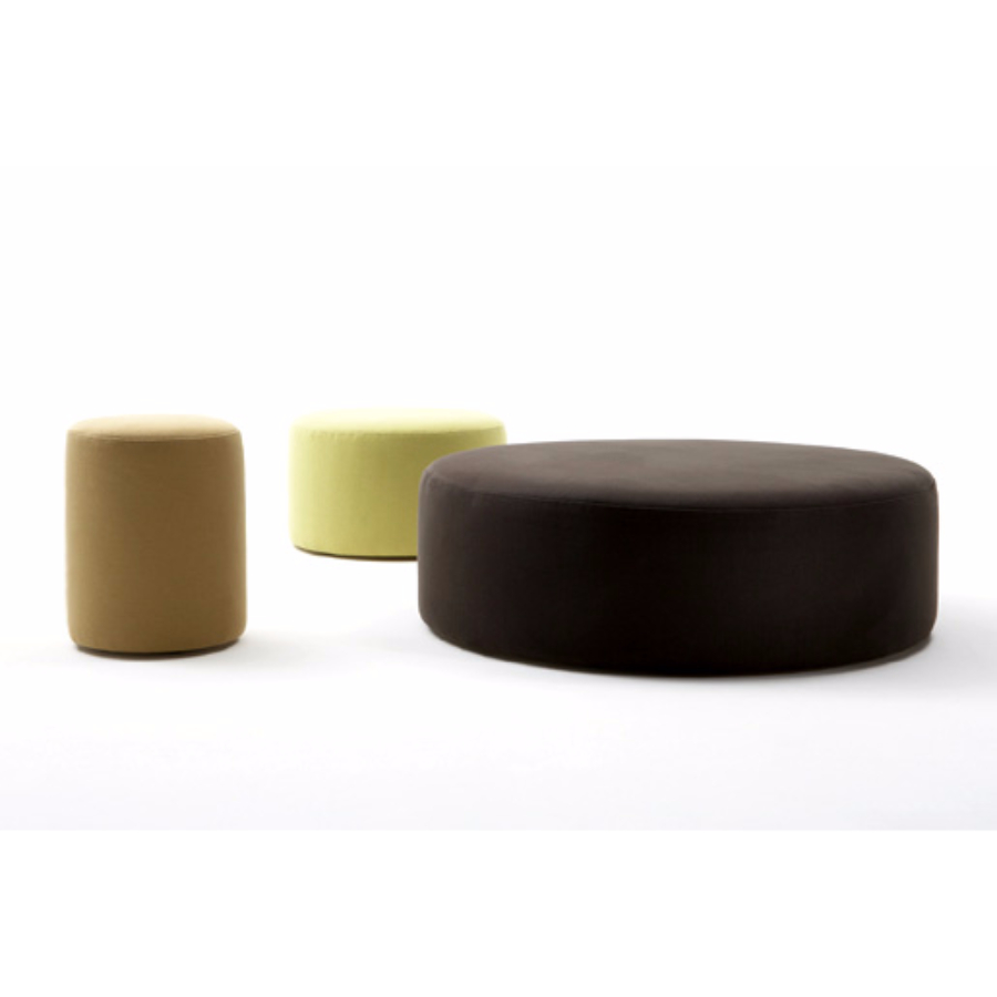 Custom Made Round ottomans
