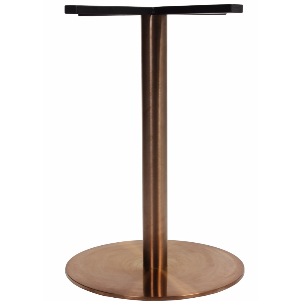 Corten Round Bronze Table Base !