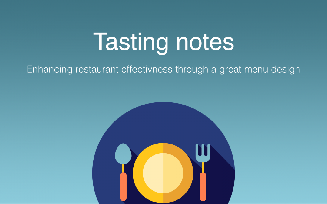 6 tips for making restaurant menus more effective