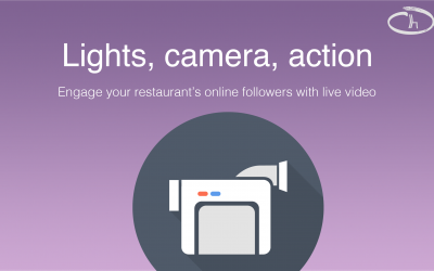 Engage your restaurant's online followers with live video